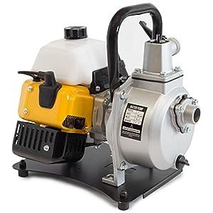 ✦ WASPPER PC108 ✦ Bomba de Agua De Uso Rudo & Portable con Tasa de Flujo de 8000 l/hr ✦ Elevación de Agua de 38m ✦ 10000…
