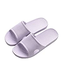 APIKA Bathroom Shower Anti-slip Slipper for women (Purple 36/37)