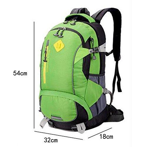 Männer und Frauen allgemeine Mode Sport Rucksack leichte große Kapazität Multifunktions Rucksack Outdoor Bergsteigen Tasche 3