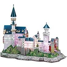 3D Puzzle Castillo de Neuschwanstein LED Neuschwanstein Castle LED Cubic Fun CUBICFUN