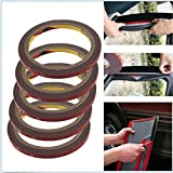Ruban Adhesif Voiture Ruban adhésif double face en mousse acrylique de 3M Ruban de montage accessoire auto(3 pièce)