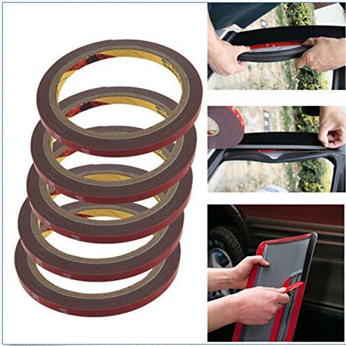 3 m 8 mm EQLEF® coche Auto fijación doble cara espuma