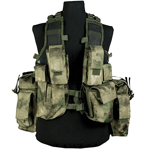 Used, Mil-Tec South African Assault Vest MIL-TACS FG for sale  Delivered anywhere in UK