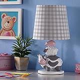 Kindertischlampe Schlafzimmer Nachttischlampe Cartoon Junge Mädchen Geschenk Prinzessin kreative süße Kinder Zimmer Lampen ( Farbe : Taste )