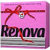 Renova Servilletas de papel Red Label Fucsia - 70 servilletas