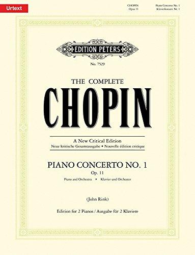 Concerto Piano No1 Op.11 mi min. - Pianos(2) par Chopin Frédéric