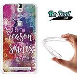 Becool® Fun - Funda Gel Flexible para Elephone P8000, Carcasa TPU fabricada con la mejor Silicona, protege y se adapta a la perfección a tu Smartphone y con nuestro exclusivo diseño. Razón para sonreír