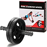 """Gallant Ab Roller Wheel With Knee Mat Pad Top Quality Rollers Blue, Black, Pink And Grey Abs Roller """"2 Year Warranty"""" Limited Time Offer"""