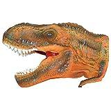 """Grande para 10""""goma juguete marioneta de mano T-Rex Tyrannosaurus Play diseño de dinosaurio jurásico realista Museo detalles en caja - BW & H - amazon.es"""
