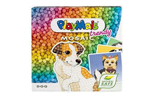 PlayMais 160443 - Mosaico Craft Kit, Perro, Colorido