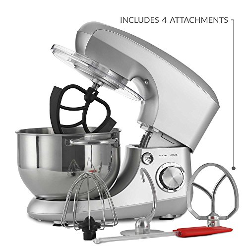 Heska 1500w Food Stand Mixer 4 In 1 Beater Whisk