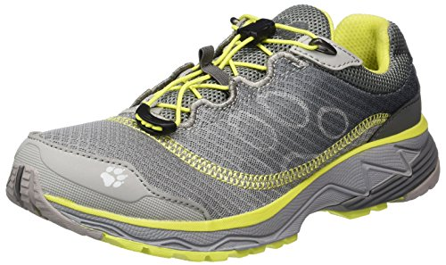 Jack Wolfskin Zenon Track Low W, Chaussures de Trail Femme Gris (Alloy)