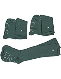 Sockfix Calcetines escolares largos con botón (pack 3 pares)