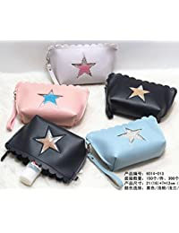MK Star Designed MakeUp Pouch Cosmetic Bag Jewelry Organizer With Beads Makeup Kit Pouch Assorted Color