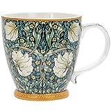 Tasse de petit-déjeuner en porcelaine - Grande capacité 380 ml, emballée individuellement par William Morris Pimpernel