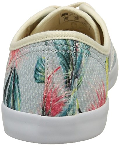 VEJA Taua, Baskets Basses mixte adulte Bleu (Bahia Natural White)