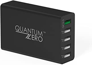 QuantumZERO WalMATE Quick Charge QC3.0 Wall Charger Adapter (5 Ports)