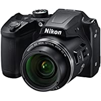 Nikon B500 Coolpix 16MP HD Digital SLR Camera with 40x Optical Zoom (Black)