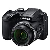 "Nikon Coolpix B500 Fotocamera Digitale Compatta, 16 Megapixel, Zoom 40X, VR, LCD Inclinabile 3"", FULL HD, Bluetooth, Wi-Fi, Nero"