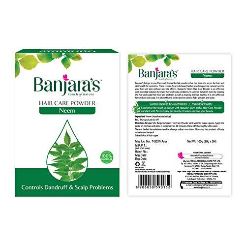 super natural neem polvere di banjara capelli fini confezione polvere (pacchetto di 2)