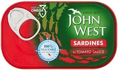 John West Sardines in Tomato Sauce, 120g