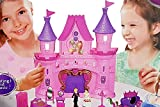 #4: UDee Castle Doll House with Music, Lights, Accessories, Toy House Set