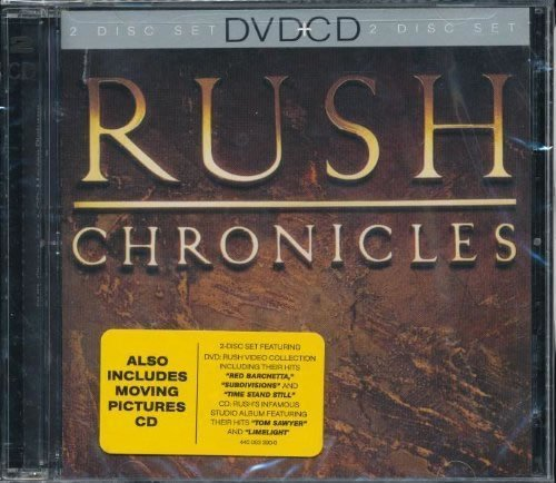 Moving Pictures / Chronicles (CD/DVD Combo Pack) by Rush (2001-08-02) (Combo Pack 02)