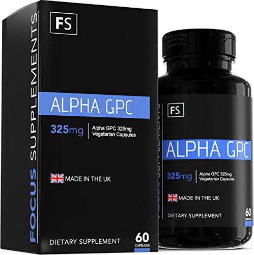Alpha GPC - 325mg Vegetarian Capsules