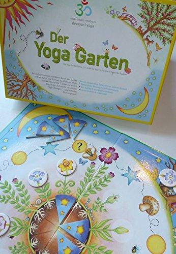 Preisvergleich Produktbild Der Yoga Garten: The Yoga Garden Game - Le Jardin du Yoga - Il Giardino di Yoga - De Yogatuin