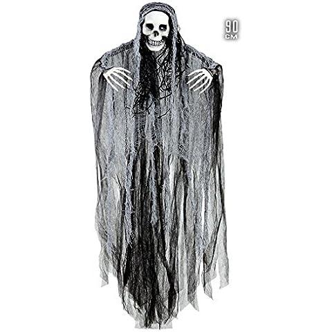 Parca decorativa de halloween decoración colgante hombre cráneo figura fantasma esqueleto