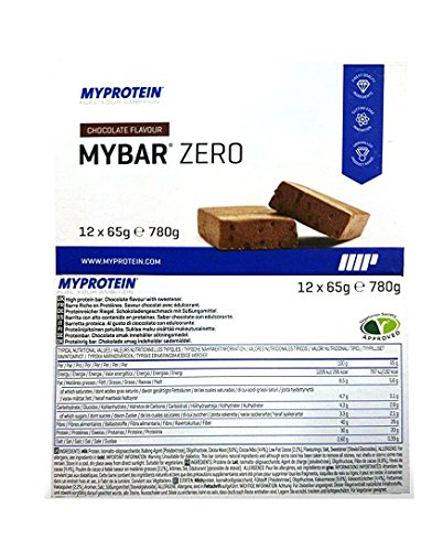 MyProtein MyBar Zero - Barretta Proteica - Prodotto da 780 gr