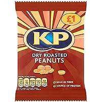 KP seco cacahuetes asados ??65g (paquete de 12 x 65 g)
