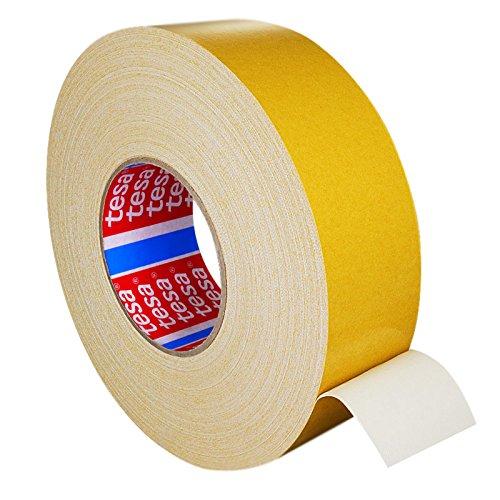 Tesa 4964 Gewebeklebeband Teppichverlegeband doppelseitig ablösbar, verschiedene Breiten || 12 mm x 50 m