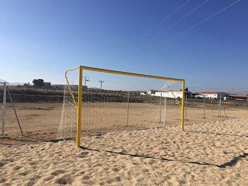 Softee-Set Fußballtor fútbol-Playa Metall 100mm