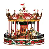 Lemax Christmas Village, Santa Carousel by Lemax