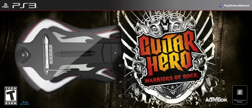 Activision Guitar Hero: Warriors of Rock - Bundle, PS3 PlayStation 3 Inglés vídeo - Juego (PS3, PlayStation 3, Música, Modo multijugador, T (Teen))