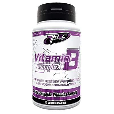 Trec Nutrition Vitamin B Complex -- BEST AVAILABLE ON THE MARKET by Mammoth XT Supplements