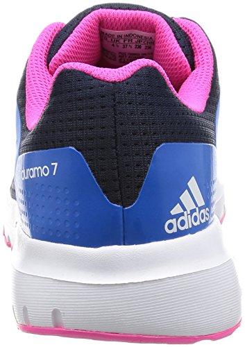 adidas Duramo 7, Chaussures de Running Compétition Femme Bleu (Collegiate Navy/Ftwr White/Shock Blue)