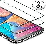 ivencase [2-Pezzi] Pellicola Protettiva in Vetro Temperato per Samsung Galaxy A20e [Nessuna Bolla] [Anti graffio] [Durezza 9H]...
