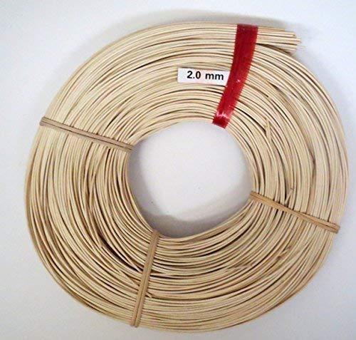 Schardt - Peddigrohr Natur 4.0 mm 500 Gramm zum Körbe flechten - Verschiedene Größen und Stärken 1.6/2.0/2.2/2.4/3.0/4.0mm - Peddigschiene 5mm Rattan