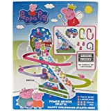 Plutofit® Funny PeggaPig Battery Operated Musical Race Track Toy, Multi Color