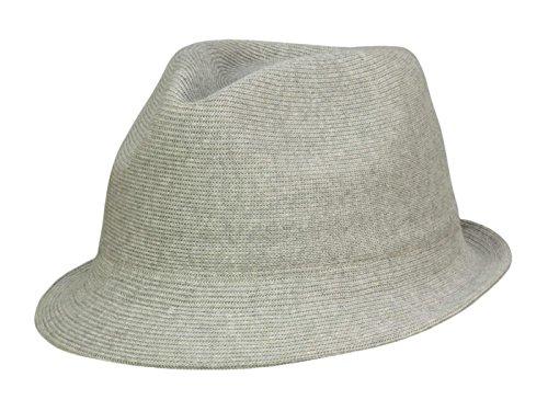 Kangol Chapeau Trilby Cotton Rib Arnold Unisex - Gris