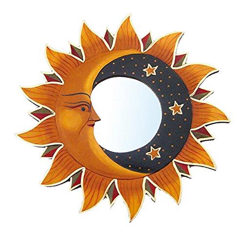 Unbekannt 'Espejo Sol Antiguo 20cm Madera