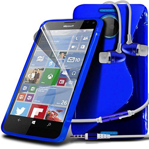 Étui pour Microsoft Lumia 950 Titulaire de téléphone Case voiture universel Mont Cradle Dashboard & pare-brise pour iPhone yi -Tronixs Wave Gel+ Earphones ( Green )