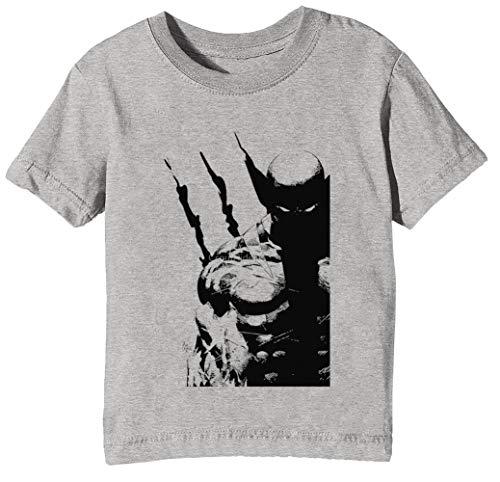 Los Mejor A Qué Yo Hacer Niños Unisexo Niño Niña Camiseta Cuello Redondo Gris Manga Corta Tamaño S Kids Boys Girls Grey T-Shirt Small Size S