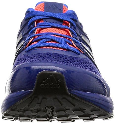 adidas Herren Supernova Glide 8 M Laufschuhe Blau (Blau/Schwarz/Blau)