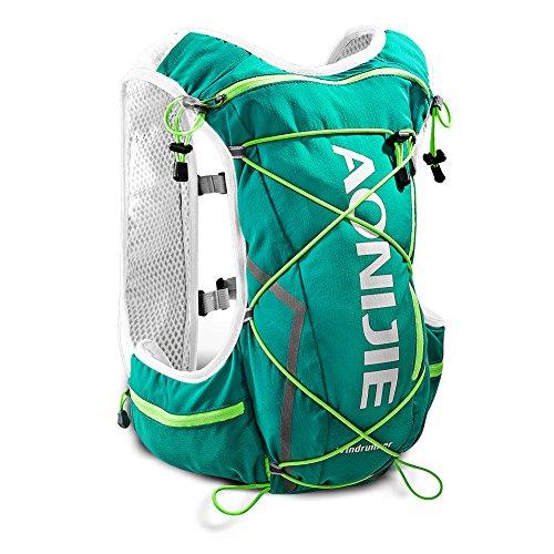 Imagen de aonijie senderismo ciclismo running   de hidratación con 2l bolsa de agua ligera , verde menta alternativa