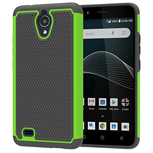 AT&T AXIA Hülle, Yiakeng Dual Layer Stoßfest Slim Protective Armor Phone Case Cover for AT&T AXIA (QS5509A), 6