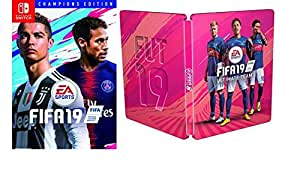 FIFA 19 - Champions Edition including Steelbook (exclusive to Amazon.co.uk) - (Nintendo Switch)
