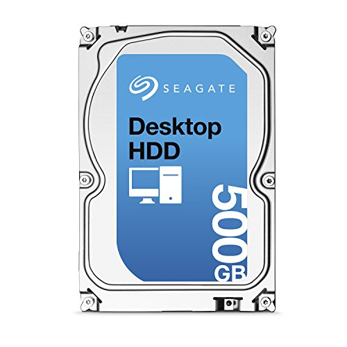 Seagate ST500DM002 500GB Internal Hard Drive (Silver)